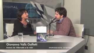 Giovanna Valls Galfetti, autora de 'Aferrada a la vida'