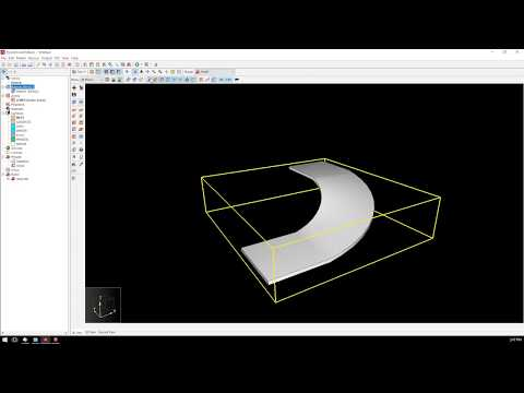 Create Curved Ramp Geometry in SketchUp for PyroSim
