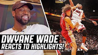 Video Dwyane Wade Reacts To Dwyane Wade Highlights! MP3, 3GP, MP4, WEBM, AVI, FLV Juli 2019