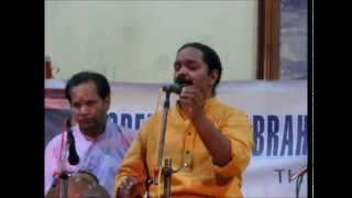Carnatic Vocal Concert By Dr. Sreevalsan Menon - Part 1