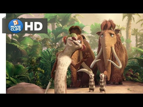 Ice Age 3 Hindi (08/18) Introduction Of Buck & Comedy Scene MovieClips