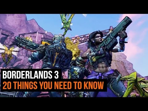 Borderlands 3: We've played it! - 20 Things You Should Know