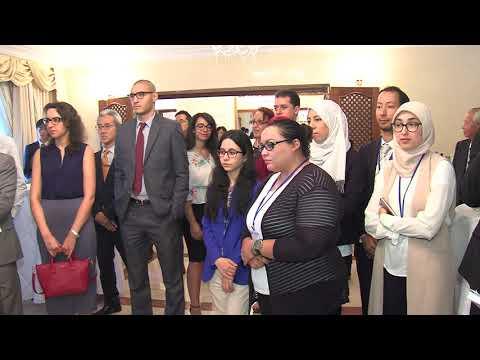 Accueil des étudiants marocains participant à la ABE Initiative
