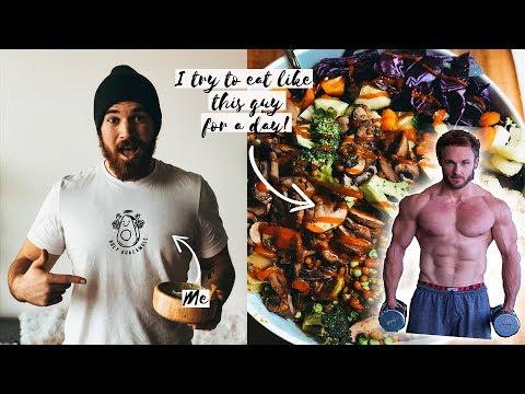 I ate like Simnett Nutrition for a day  Vegan Pro Athlete