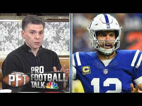 Video: Andrew Luck, Frank Reich leading Indianapolis Colts' resurgence | Pro Football Talk | NBC Sports
