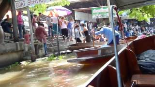 Bangkok Floating Market 2012