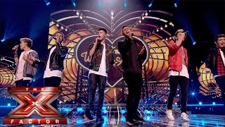 Stereo Kicks sing Bruno Mars' Just The Way You Are   Live Week 8   The X Factor UK 2014
