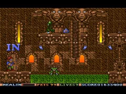 elf amiga walkthrough
