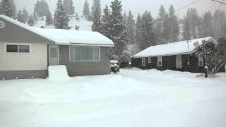 Princeton (BC) Canada  City new picture : Lots of snow in Princeton, BC Canada! January 5, 2015