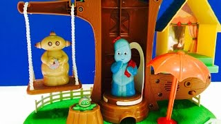 In The Night Garden Visits Daniel Tigers Neighbourhood Treehouse Play Toy Set