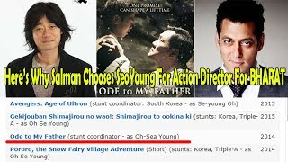 Video Here Why Salman Khan Chooses South Korean Action Director SeaYoung Oh For BHARAT Movie MP3, 3GP, MP4, WEBM, AVI, FLV Juli 2018