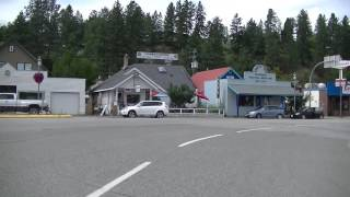 Princeton (BC) Canada  City new picture : Driving in PRINCETON BC (British Columbia) Canada - Gold Mining Town - Similkameen region