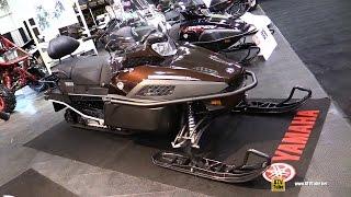 7. 2017 Yamaha VK Professional II Sled - Walkaround - 2016 Toronto ATV Show