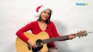 How to Play All I Want For Christmas is You on Guitar