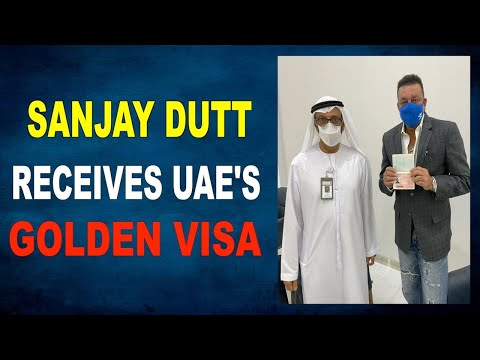 Sanjay Dutt Honoured to have received a golden visa for the UAE
