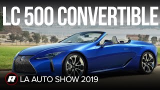 RS Lexus LC500 Convertible 20 by Roadshow