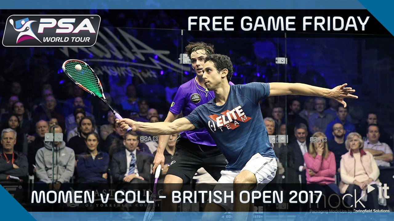 Squash: Free Game Friday – Momen v Coll – British Open 2017