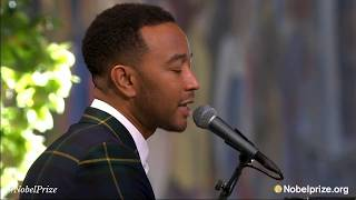 John Legend performs live