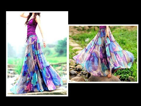 Video GYPSY Skirt ( Convert Old Sari to GYPSY SKIRT) Drafting, Cutting & Stitching  EASY METHOD download in MP3, 3GP, MP4, WEBM, AVI, FLV January 2017