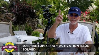 In my previous video, I discussed that my new DJI Phantom 4 Pro + would not allow me to complete the activation process.