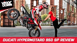 6. Ducati Hypermotard 950 SP 2019 Review - Naked bike / Supermoto
