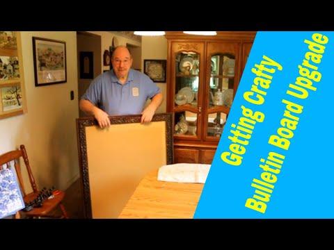 Getting Crafty ~ Bulletin Board Upgrade