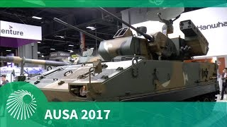 8. AUSA 2017: Flying Tiger Self-propelled Air-defence System