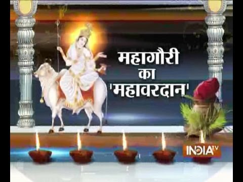 India TV special programme on Navratri's (Maa Gauri Mahavardaan)