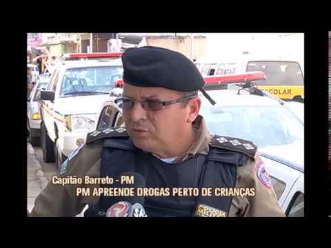 Polícia Militar apreende grande quantidade de drogas em Matias Barbosa