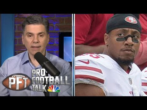Video: Eric Reid's settlement likely ends PED testing issue | Pro Football Talk | NBC Sports