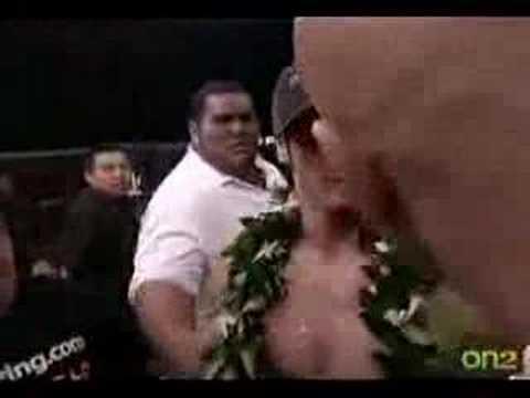 Nate  Nick Diaz Fight KJ Noons Post Fight During Interview November 10 2007