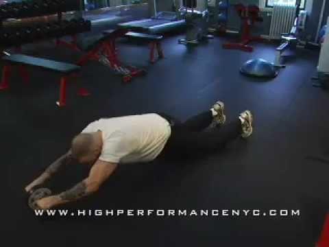 0 Ab Exercises For Women And Men:Back To The Old School Ab Wheel Exercises For A Killer Midsection