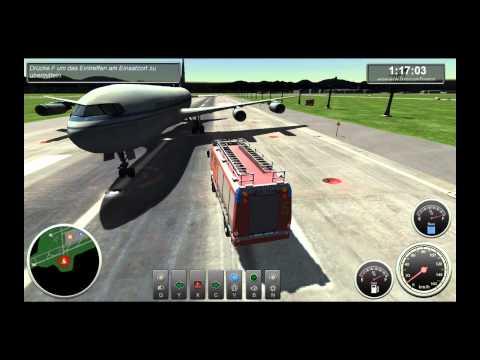 Lets Play: Flughafen feuerwehr simulator