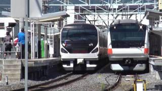諏訪湖祭湖上花火大会 E233系 臨時列車 その2(返却回送)