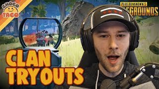 Video chocoTaco Tries Out For A Clan - PUBG Gameplay MP3, 3GP, MP4, WEBM, AVI, FLV September 2019