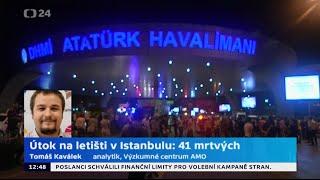Útok na letišti v Istanbulu: 41 mrtvých