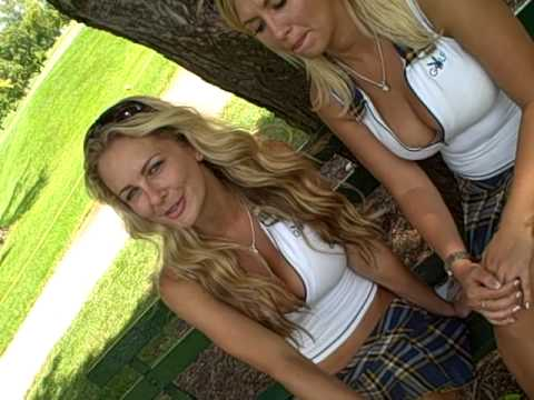 Playboy Golf in Chicago: Playmates Shanna McLaughlin & Amy Leigh Andrews