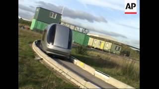 Driverless  pod cars provides eco-friendly transport for for new Heathrow terminal