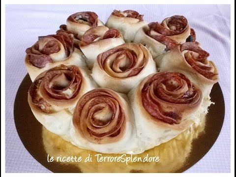 video ricetta: rose di salame, idea sfiziosa.