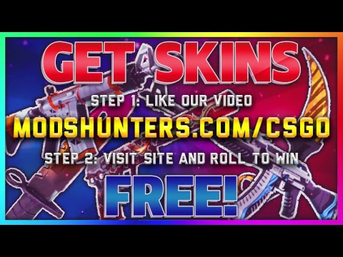 Free CSGO Skins Giveaway | Dragon lore, Knife, Gloves, Keys, Cases and more!
