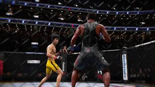 Bruce Lee vs. Snoop Dogg (EA Sports UFC 3) - CPU vs. CPU