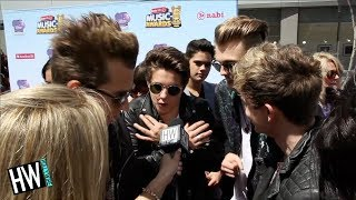 'The Vamps' Reenact Naked Hotel Incident With Fans!