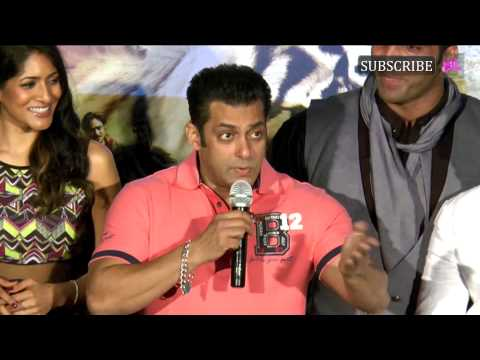 Salman Khan as guest at trailer launch of movie Ro