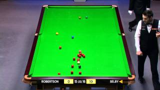 Snooker 2014 W.C. Robertson V Selby (31) [HD]