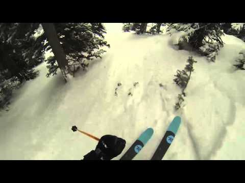 Thomas Rozsypalek - First DEEP Powder Days at Whistler Blackomb