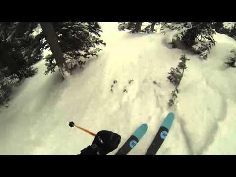 Thomas Rozsypalek - First DEEP Powder Days at Whistler Blackomb
