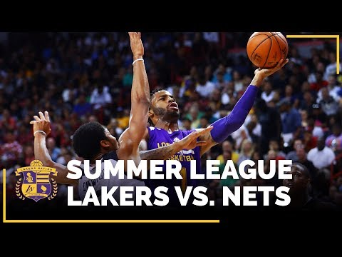 Video: Lakers Are Headed To The NBA Summer League Semifinals!!!