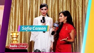 Candice caught up with Jordan Fisher, Alex Aiono, Jenna Ortega, Jake Paul, Dove Cameron, Laurie Hernandez, and Sofia Carson backstage at the Radio Disney Mus...
