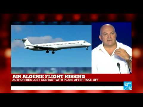 France - FRANCE 24 speaks with air safety expert about missing Air Algérie flight Subscribe to France 24 now http://www.youtube.com/subscription_center?add_user=france24english LATEST NEWS - Watch...