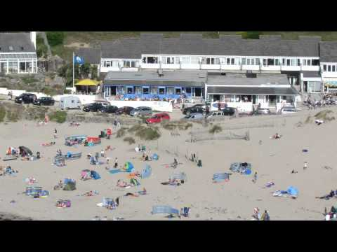 Time Lapse of Porthtowan Beach